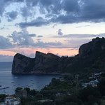 Sunset at Relais Vittoria