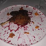 duck with the blackberry sauce