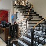 Accueil et escalier
