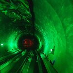 Bund Sightseeing Tunnel Foto