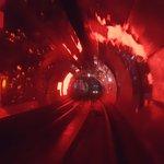 Sezione del tunnel