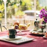 Il Breakfast sulla terrazza