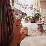 hamacas paraguayas, espacios al aire libre