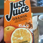 """Freshly squeezed orange juice"""