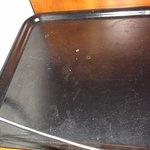 Dirty hospitality tray