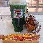 BEST DAMN HOT DOG...EVER!!!!