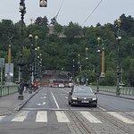 scalinata al metronomo di Praga