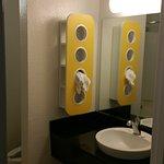 Face Bowl area in bathroom