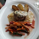 Filet with gorgonzola