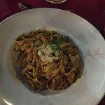Tagliatelle seafood&curry