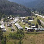 Goodnight's Lonesome Dove Rv Campground & Cabins Aerial View