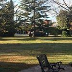 Parte del parque de la casa
