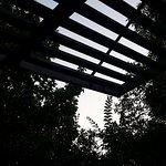 Terrasse mobil home ombragée