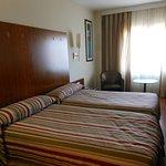 Deux lits simple, chambre premium
