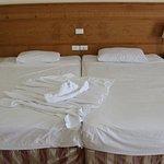 Две кровати место одной.