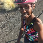 Riding in Kona. Thanks to bike works.