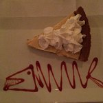 the fabulous Key Lime Pie of Barracuda Grill :-)