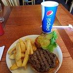 Buffalo Burger.