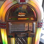 "The ""cool"" starts at the Angel's Diner door with this great Jukebox."