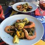 Paella et sangria