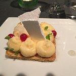 3 des plats choisis à la carte: solette, pluma iberica et bœuf suivis du dessert!