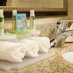 Bath & Body Works Amenities in Each Guest Bathroom