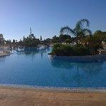 Vista de la fantástica piscina