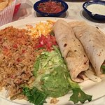 Steak fajita tacos - yummy!