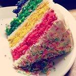 Lovely rainbow cake