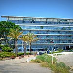 Royal Antibes hotel - view from waterfront