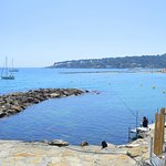 View from Royal Antibes private beach