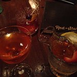 Scarlet Spritz and Port Old Fashioned