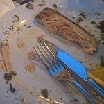 cena col verme... non serve aggiungere molto..