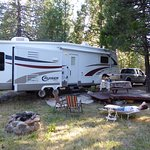 Rv site with Full hook ups