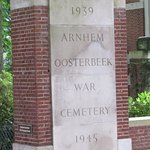 The entrance to the Arnhem Oosterbeek war Cemetary