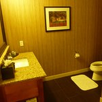 Otra parte del mismo baño en suite