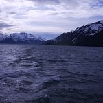 Prince William Sound - views of the majestic mountains taken from the cruiser Glacier Spirit