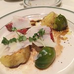 Heirloom tomato appetizer