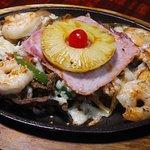 Fajita Hawaiian delicious