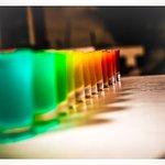 Our famous Rainbow shots