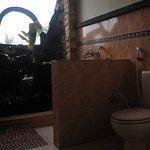 Semi open Bath room