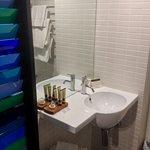 Bathroom with lovely toiletries