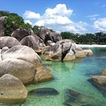 in Belitung Island, Indonesia