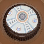 Looking up to the dome