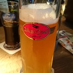 Sehr leckeres Bier (Flieger Quell Helles)