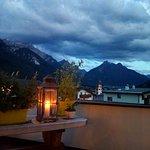 Dalla terrazza dell'hotel...