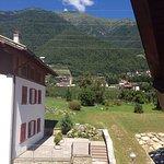 Vista dall'hotel.