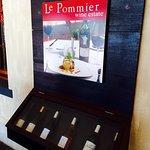 Wine tasting at Le Pommier