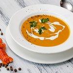 Крем-суп из раков