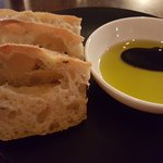 EVOO and focaccia